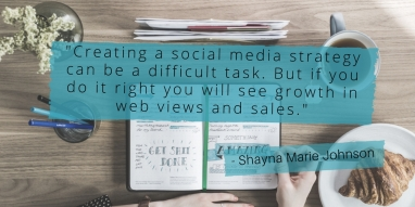 -Creating a social media strategy can be a difficult task. But if you do it right you will see growth-